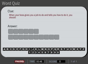word quiz image